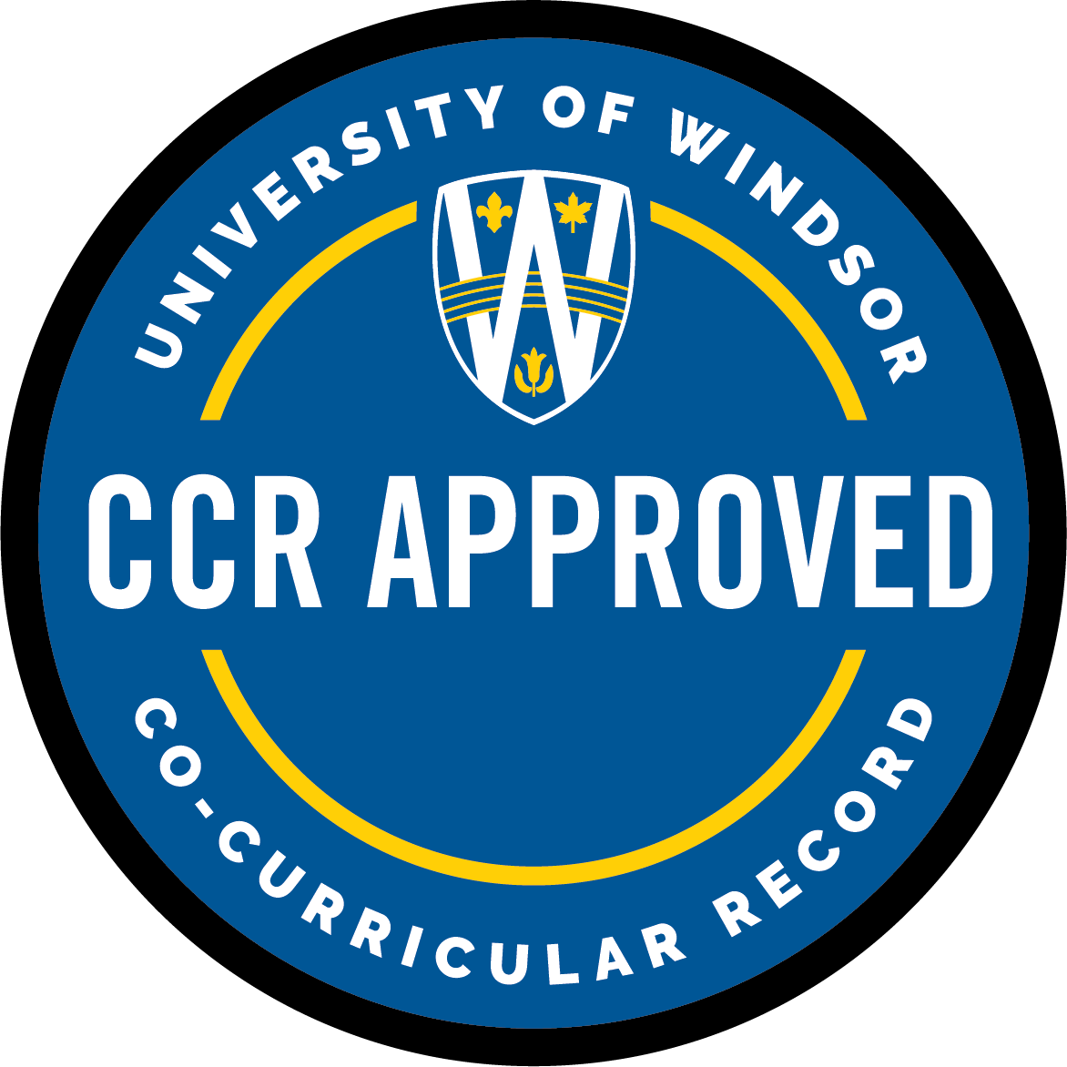 CCR Approved logo seal
