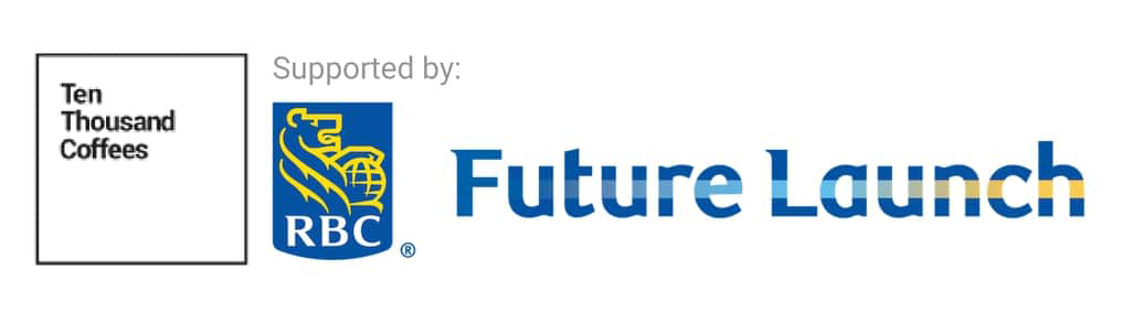 Ten Thousand Coffees / RBC Future Launch Logo