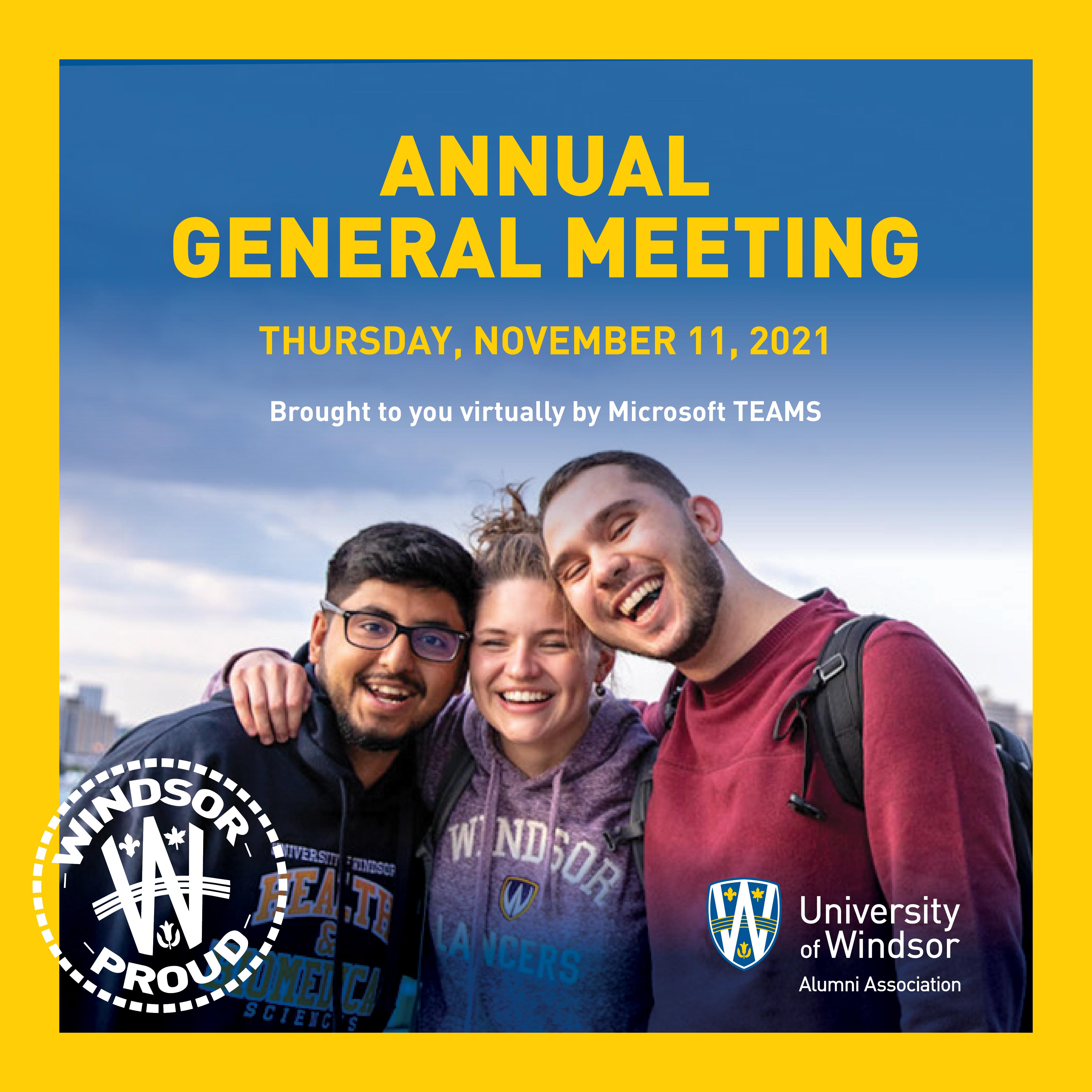 Alumni Annual General Meeting