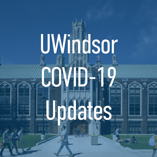 UWindsor COVID-19 Updates