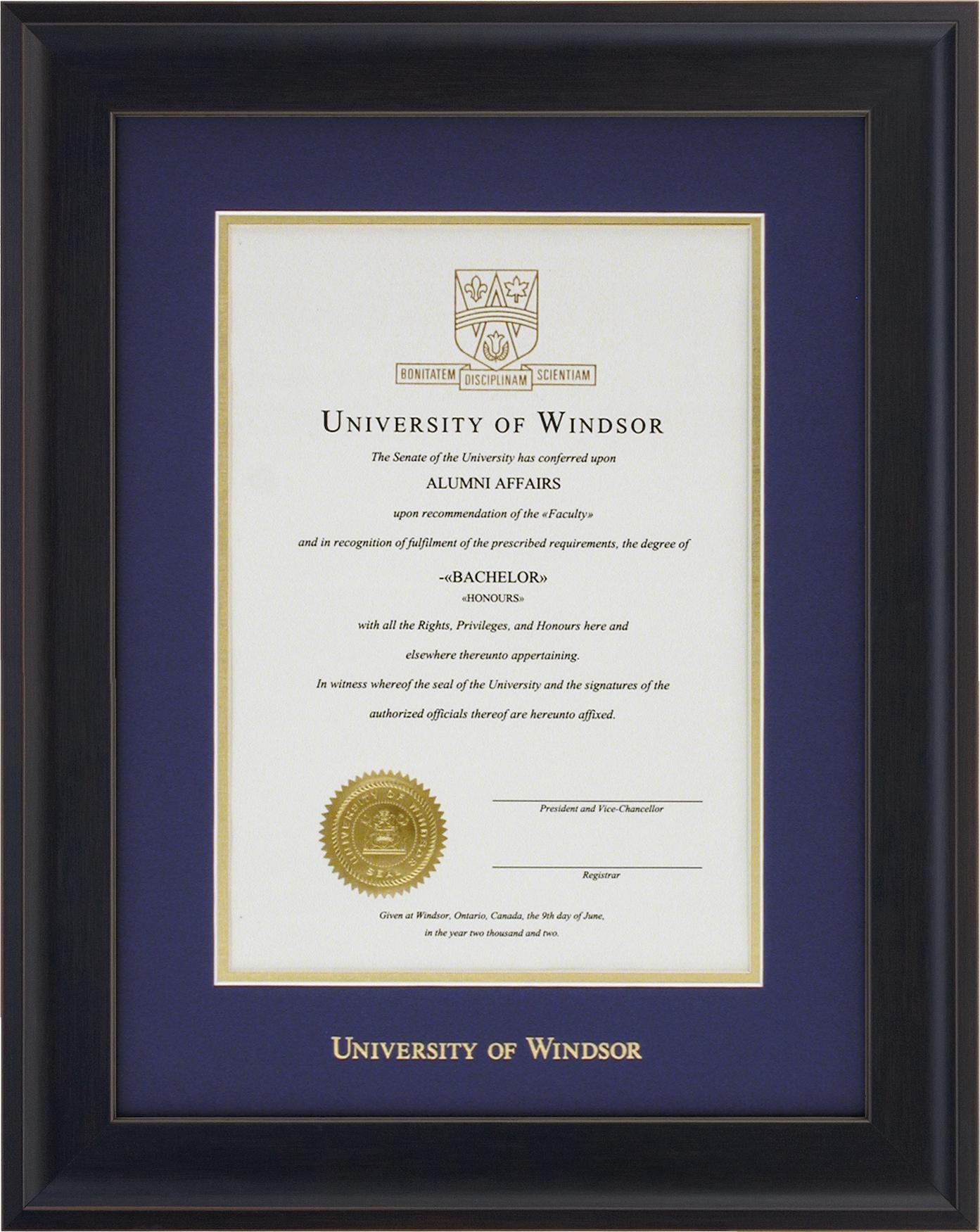 Diploma Framing Service | Alumni Association