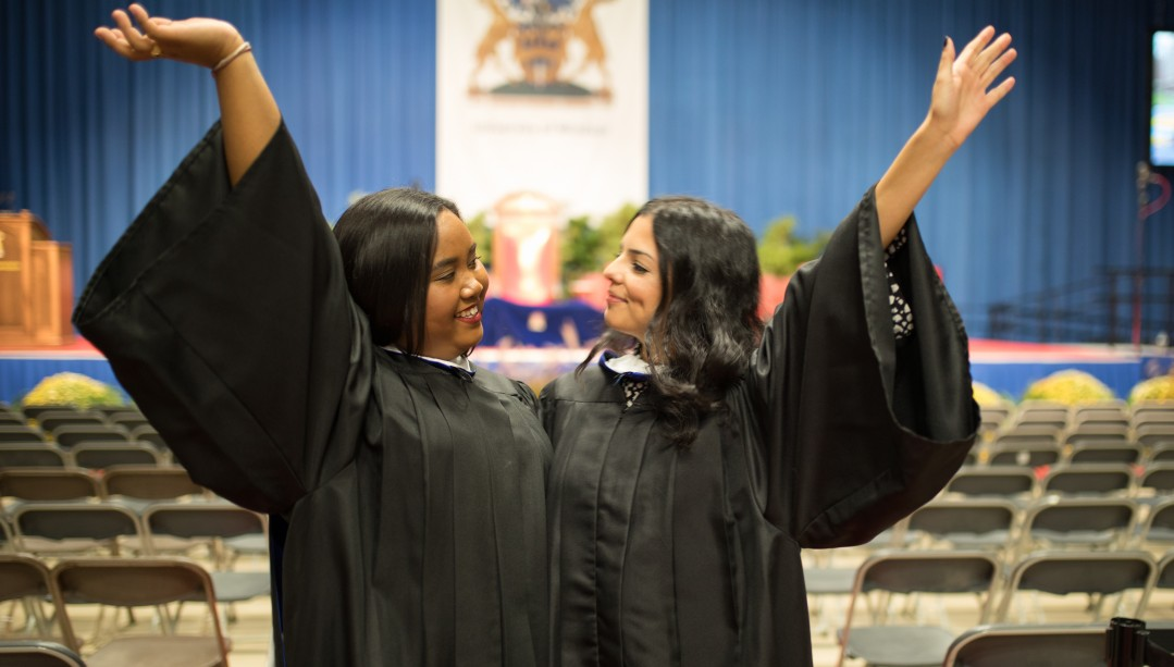 Graduates at Convocation