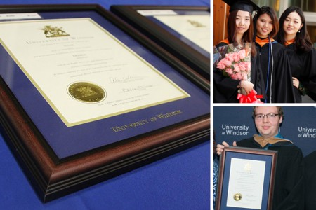 Diploma Framing and Roses for Graduation Day