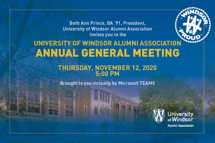 Virtual Annual General Meeting Invitation Image and Registration Link