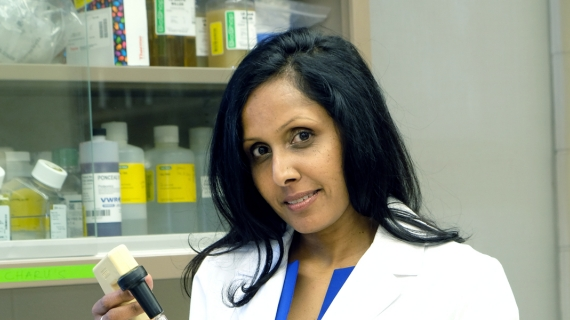 Charu Chandrasekera is the founding executive director of the Canadian Centre for Alternatives to Animal Methods.