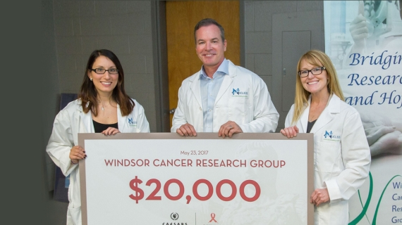 A team led by UWindsor biologist Lisa Porter has received a federal grant of more than $1 million to advance research on an aggressive form of brain cancer.