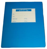 Blue Lab Notebook