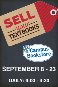 Textbook Buyback September 8-23, 2016