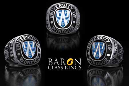 Graduation rings by Baron Class Rings