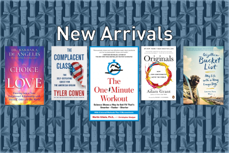 General Reading new arrivals March 2017
