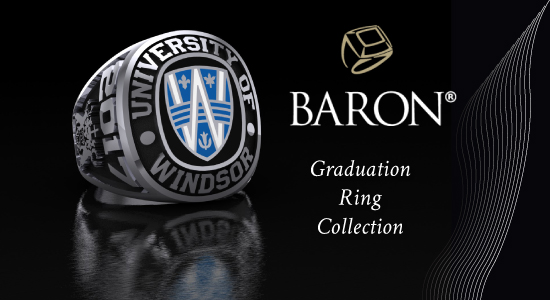 UWindsor Graduation Ring Collection