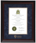 Executive UWindsor Diploma Frame