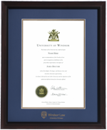 Brentwood LAW Diploma Frame