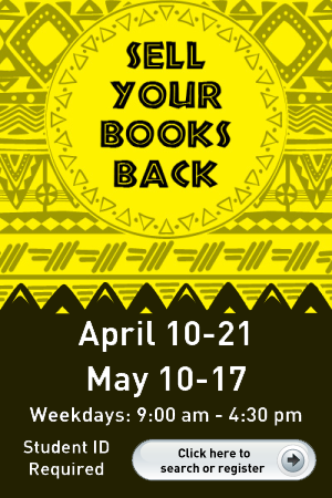 Textbook Buyback May 10-17, 2017