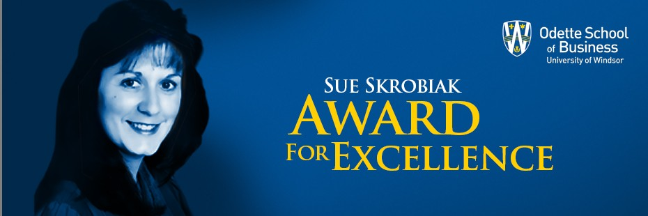 Sue Skrobiak Award for Excellence