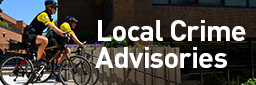 Learn about any Local Crime advisories