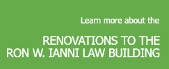 Link to more information about the Ron Ianni Law building