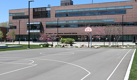 Wilson Commons basketball court