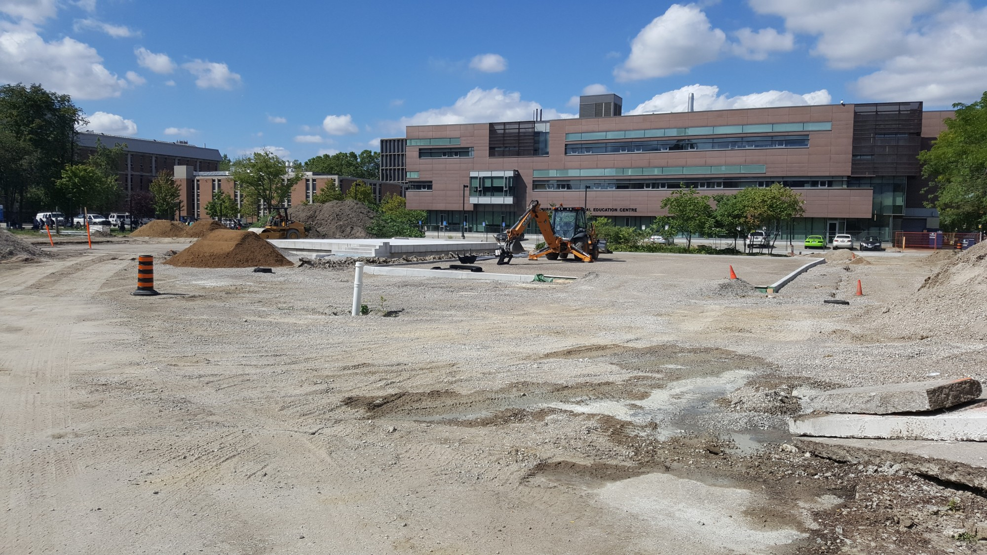 Campus Commons under construction