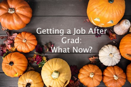 Getting a Job After Grad - What Now?