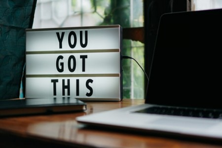 A graphic that says You Got This