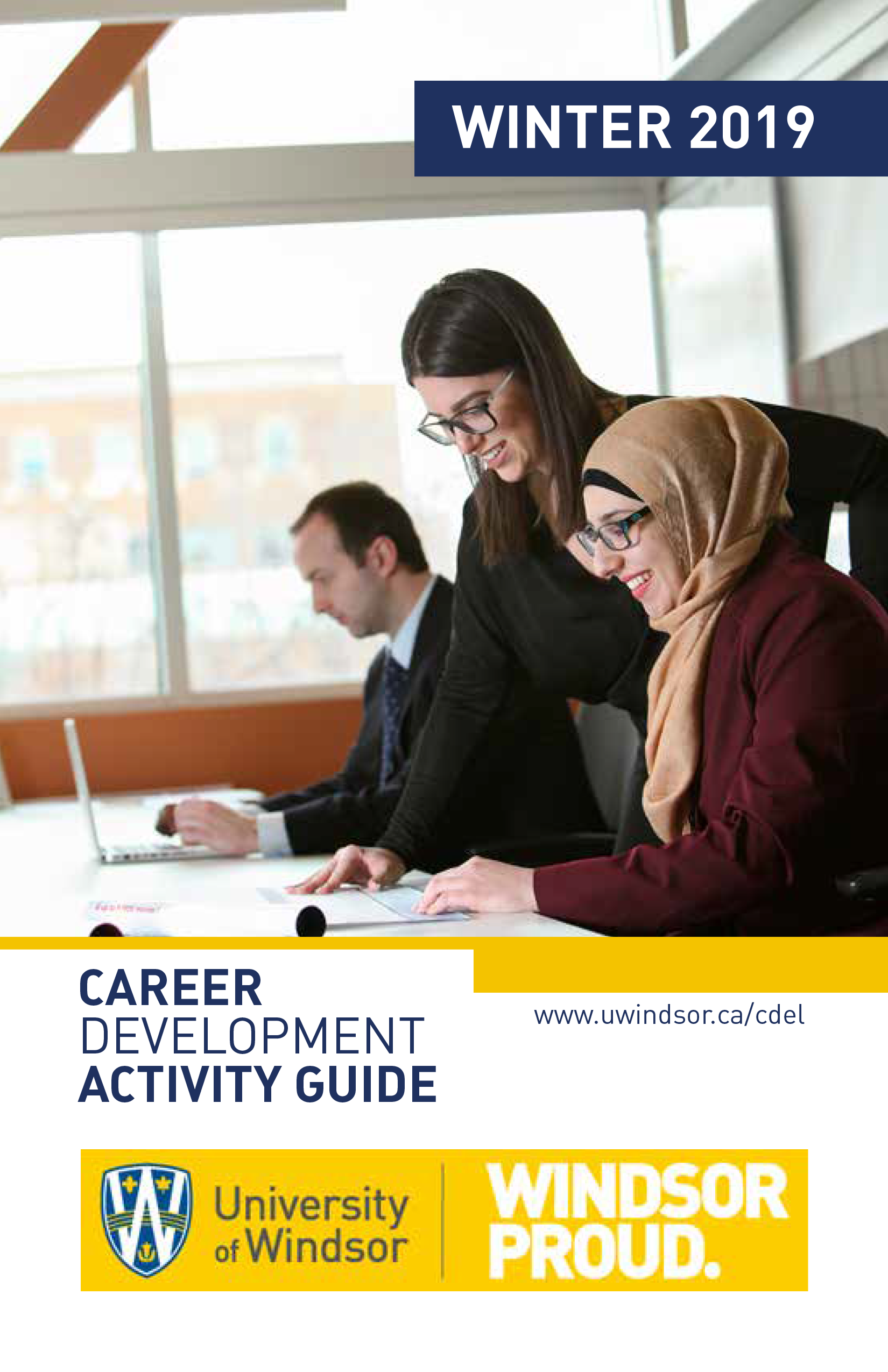 Cover of the 2019 Career Services catalogue