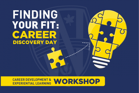 Finding Your Fit: Career Discovery Day Banner
