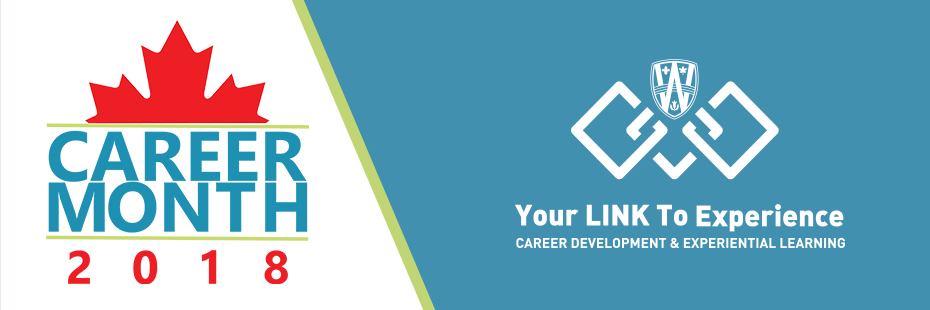Canada Career Month 2018 Header