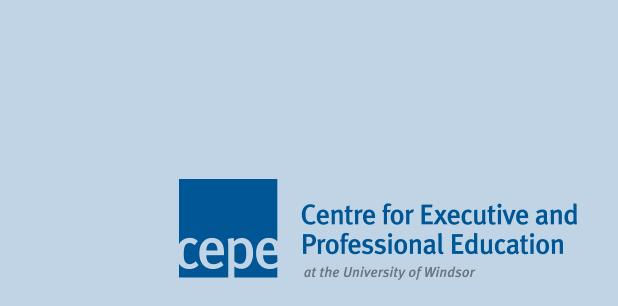 CEPE logo on a blue background