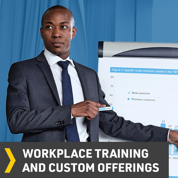 Workplace Training and Custom Offerings Button Image