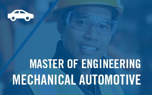 Master of Engineering - Mechanical Automotive Link
