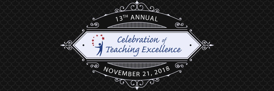 Celebrating Teaching Excellence, 2018