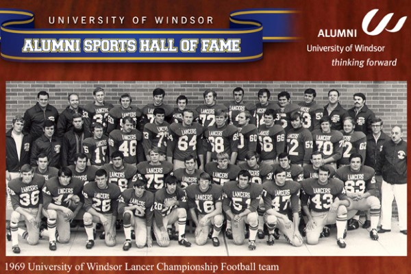Thanks to UWindsor's first football team, three student-athletes will receive the Gino Fracas Memorial Football Scholarship in a presentation at the football season home opener, Sunday, 30 August.