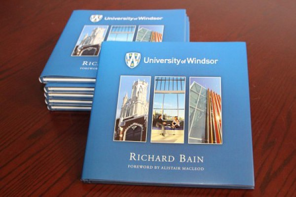 The University of Windsor photo book published in celebration of the University's 50th anniversary