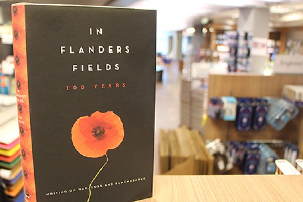 book cover: In Flanders Fields 100 Years