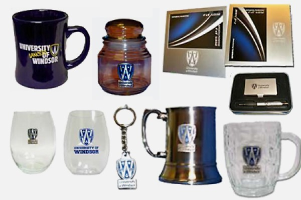 selection of giftware