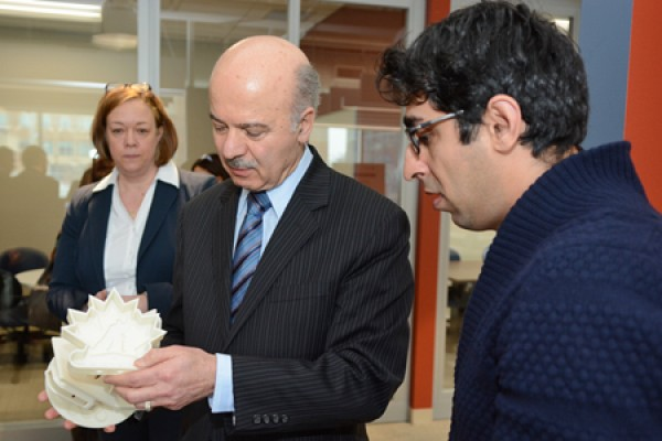 Reza Moridi and Ali Attaran