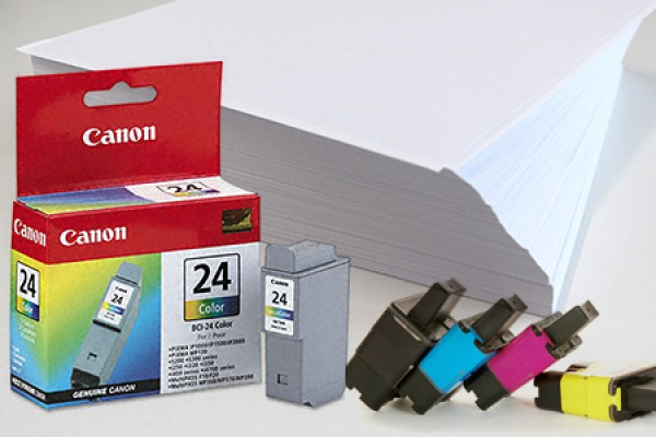 Printer paper and toner