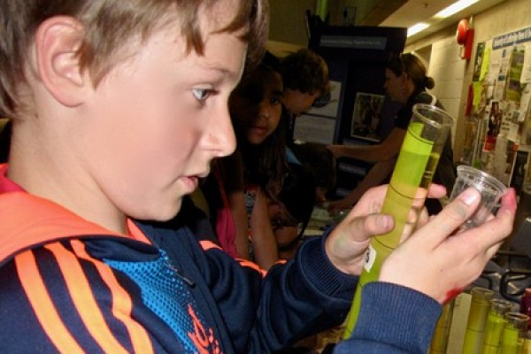 100 elementary students will compete in Let's Talk Science Challenge event, on campus.