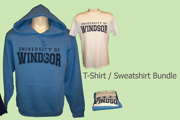 Sweatshirt and T-shirt bundle