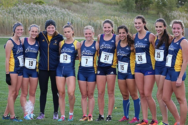 Lancer cross country runners