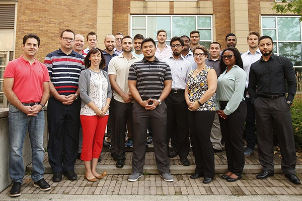 students enrolled in the Master of Engineering Management program