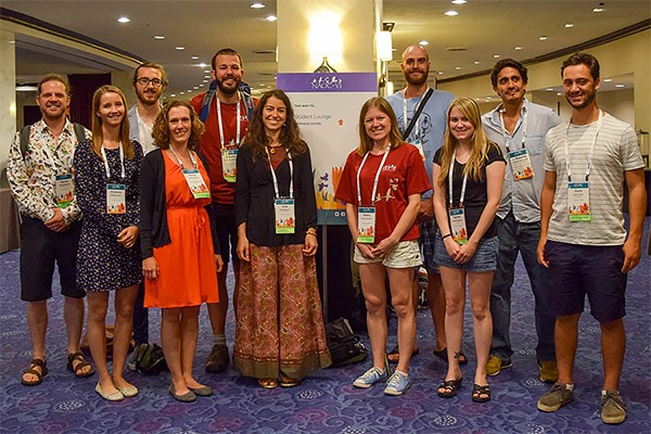 Some of the University of Windsor scientists who presented their research findings at the North American Ornithological Congress last week in Washington, DC.