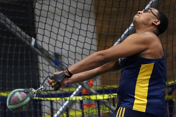 Anthony Atkinson weight throw