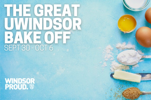 Submit a sweet blue and gold treat to the Great UWindsor Bake Off.