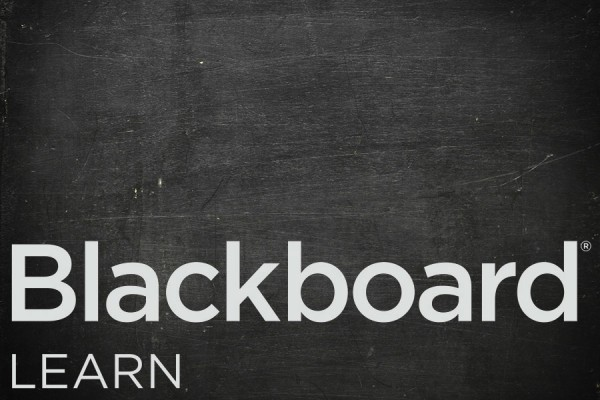 Chalkboard with Blackboard Learn written on it
