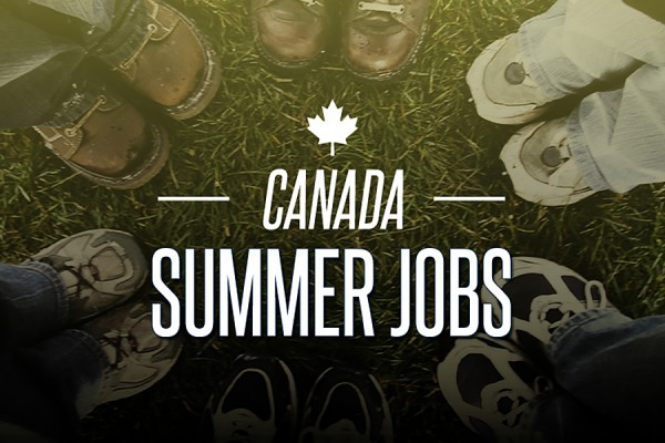 graphic illustrating the Canada Summer Jobs program.