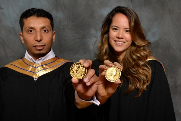 Mohamed Aboelnga and Michelle Guerrero