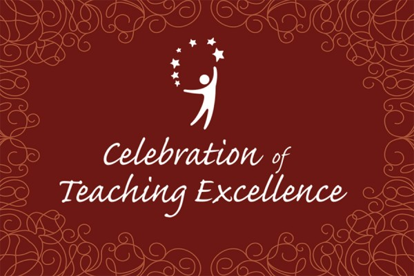 The Celebration of Teaching Excellence is set for Wednesday, November 21.
