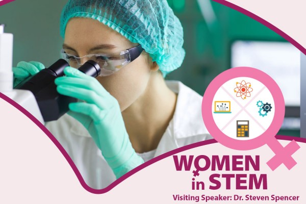 women in STEM graphic